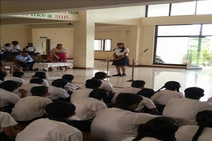 Mahatma Gandhi International School-Speech