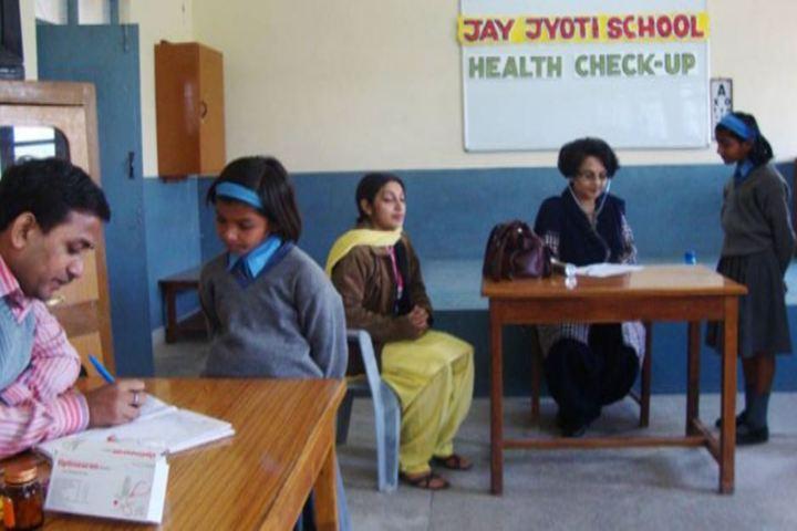 Jay Jyoti School-Medical Check Up