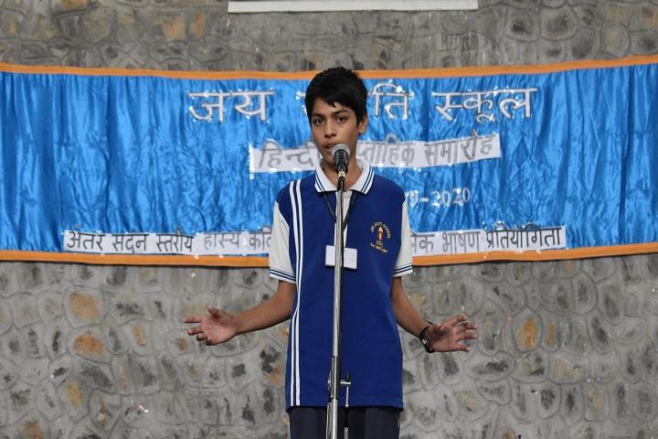 Jay Jyoti School-Story Telling