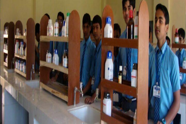 Jay Jyoti School-Chemistry Lab