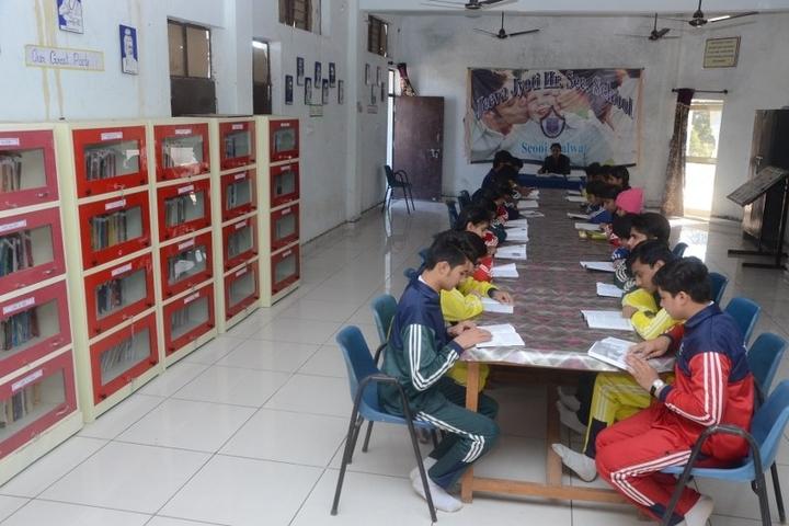 Jeeva Jyoti Higher Secondary School-Library
