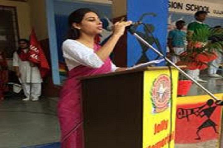 Jolly Memorial Mission School-Speech