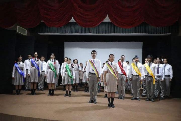 Joy Senior Secondary School-Investiture ceremony