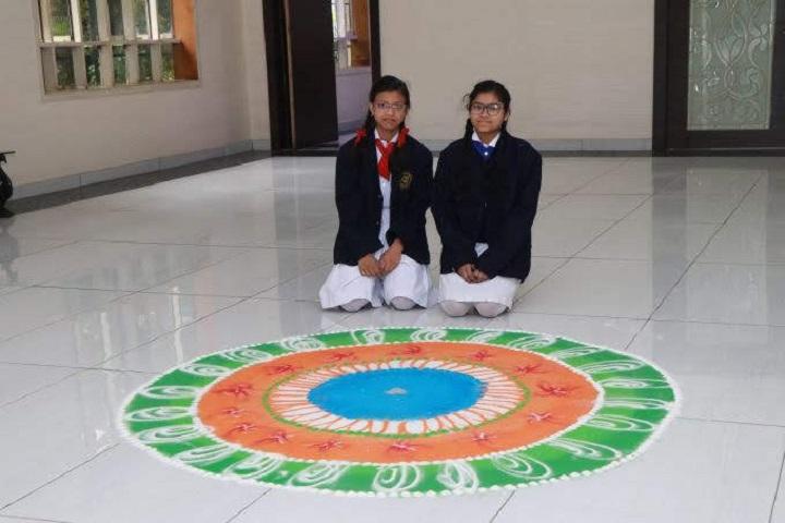 Joy Senior Secondary School-Rangoli Competitions