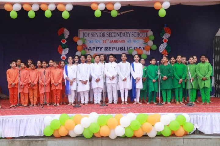 Joy Senior Secondary School-Republic Day Celebrations