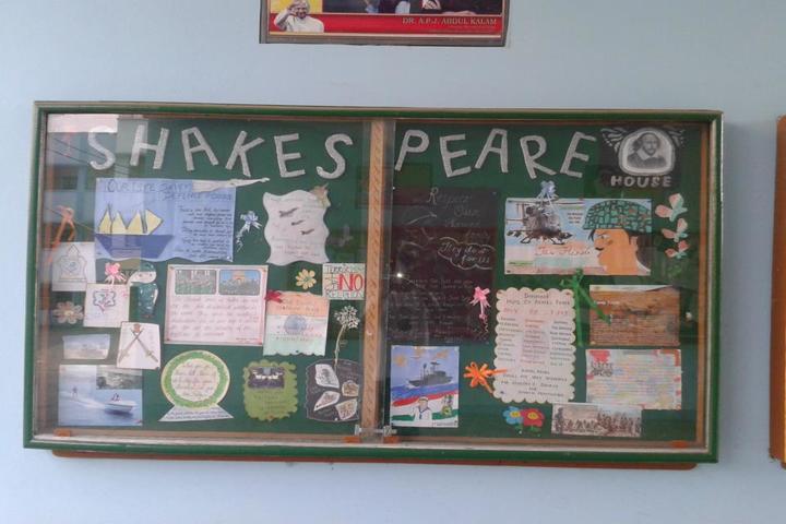 Jyoti Senior Secondary School-Wall Paper Art