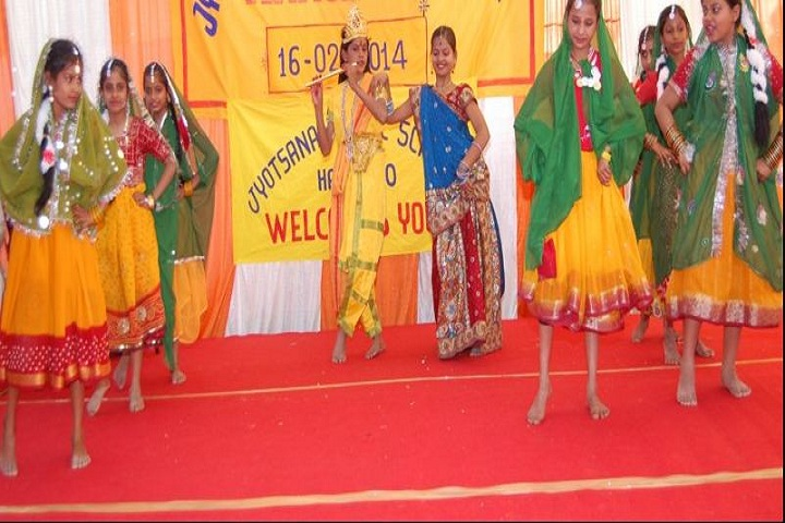 Jyotsana Public School-Dance Activity