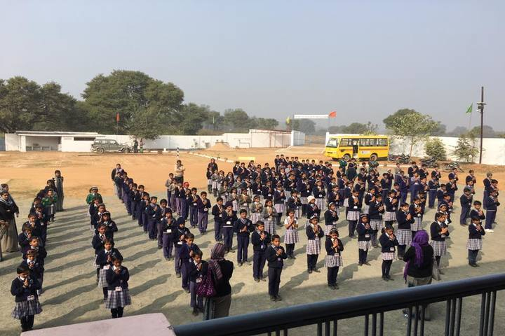 Jyotsana Public School-Assembly