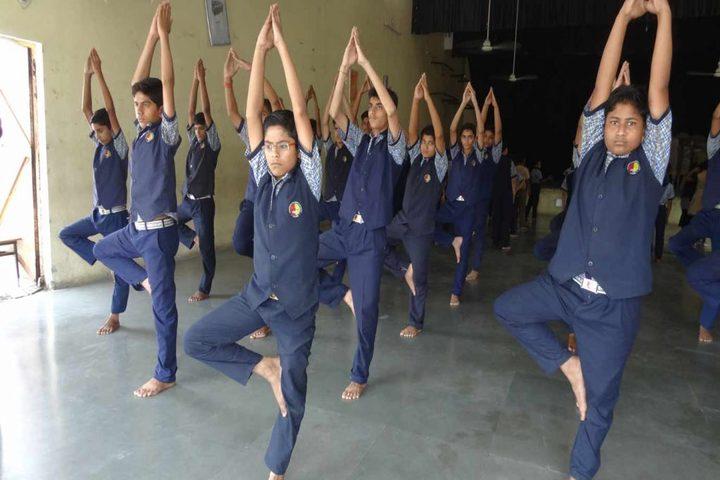 Kadambini Childrens Academy-Yoga