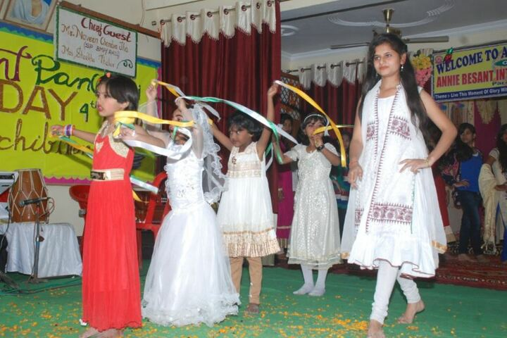 Annie Besant International School-Dance