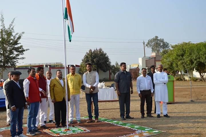 Kautilya Educational Academy-flag hoisting