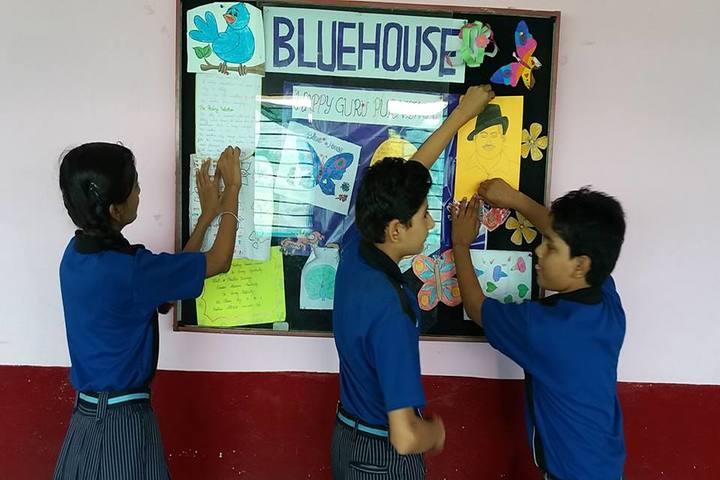 Kautilya Educational Academy-wall decoration