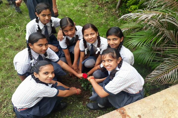 Ken International Girls School-Tree Plantation