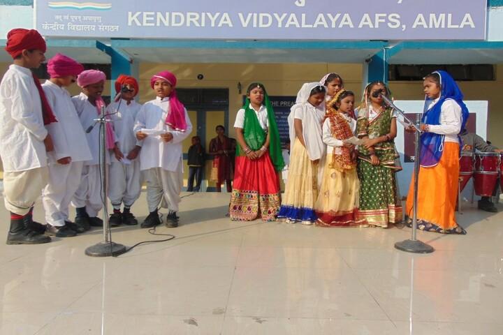 Kendriya Vidyalaya-Festive Celebration