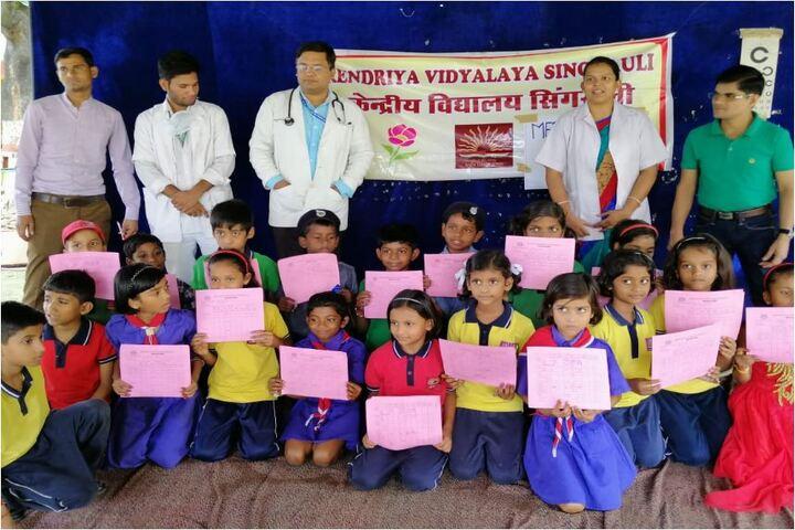 Kendriya Vidyalaya-Medical Checkup Camp