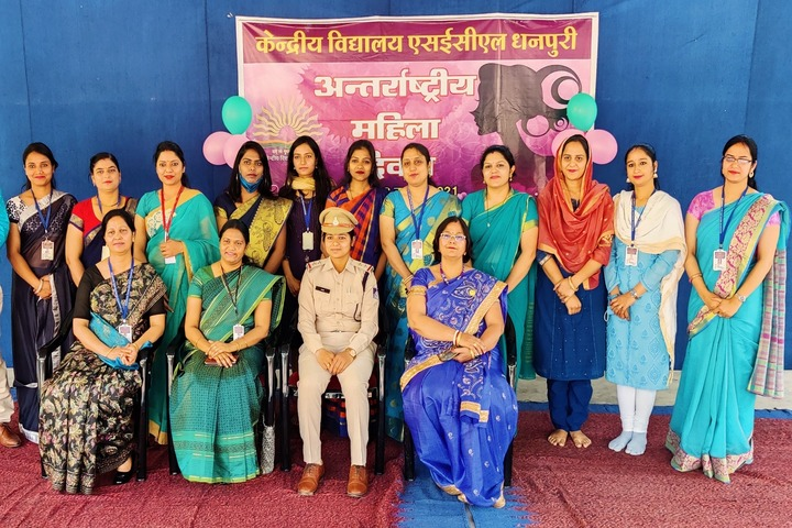 Kendriya Vidyalaya-International Womens Day