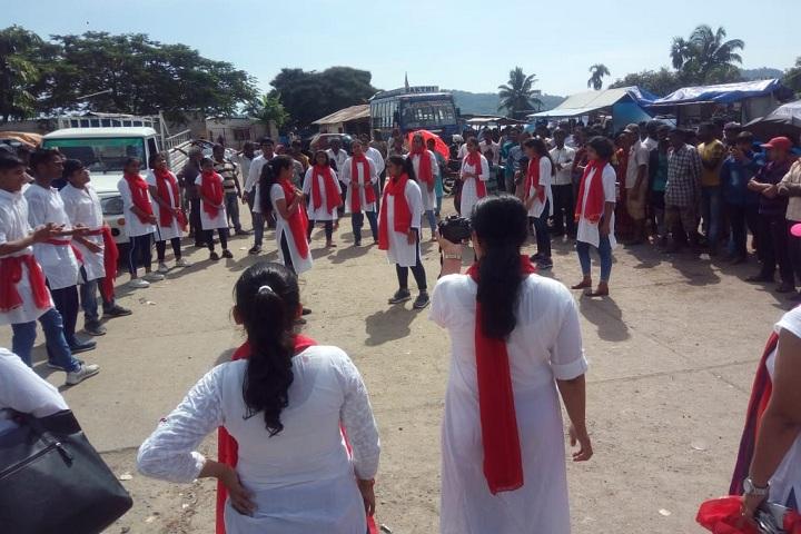 Navy Children School-Events gandhi jayanthi