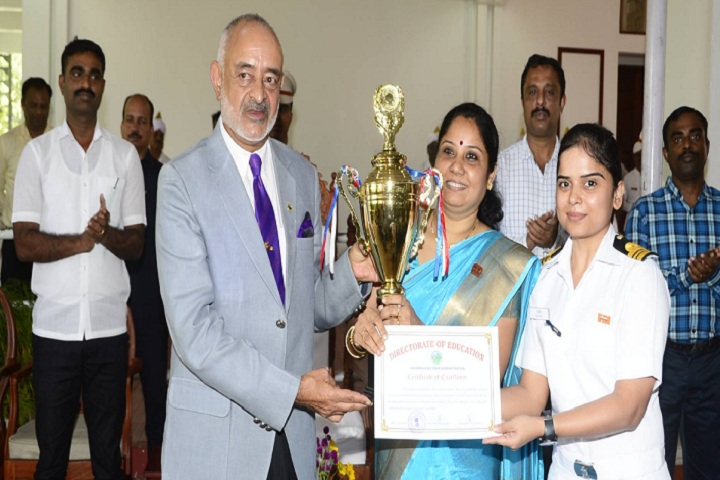 Navy Children School-Others prize