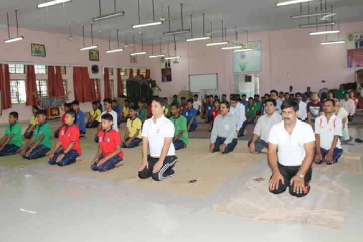 Kendriya Vidyalaya No 1 - Yoga Day Celebrations