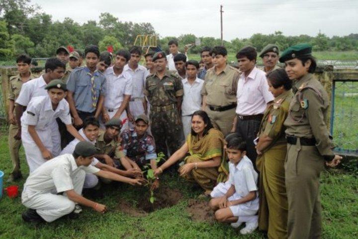 Kendriya Vidyalaya No 2-Tree Plantation