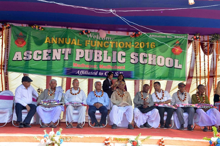 Ascent Public School-Annual program