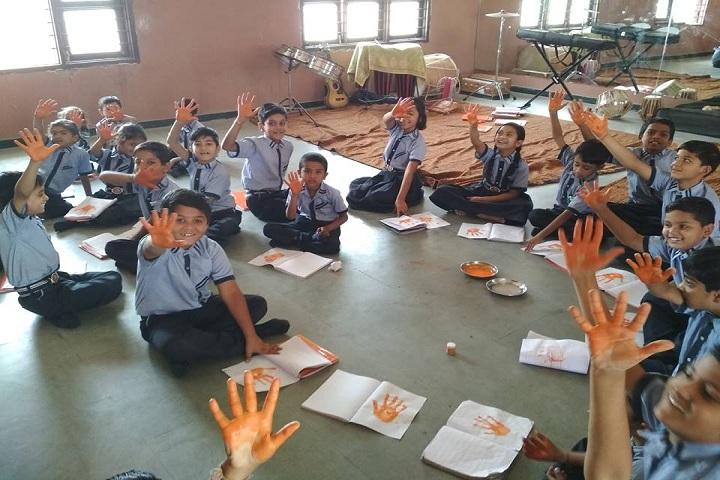 Keshav International School - Hand Print Activity