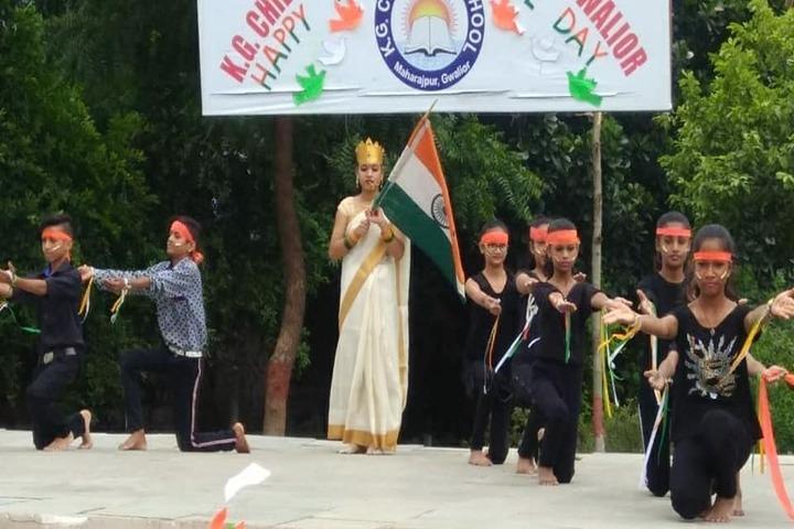 Kg Children School-Independence Day