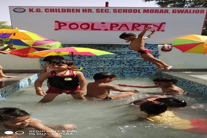 Kg Children School-Pool Party