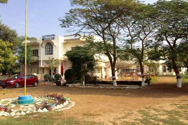Kg Children School-School Front View