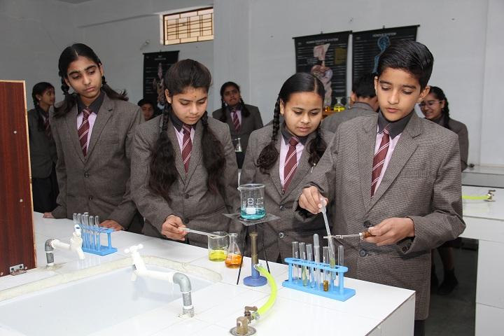 Krishna Academy-Chemistry lab