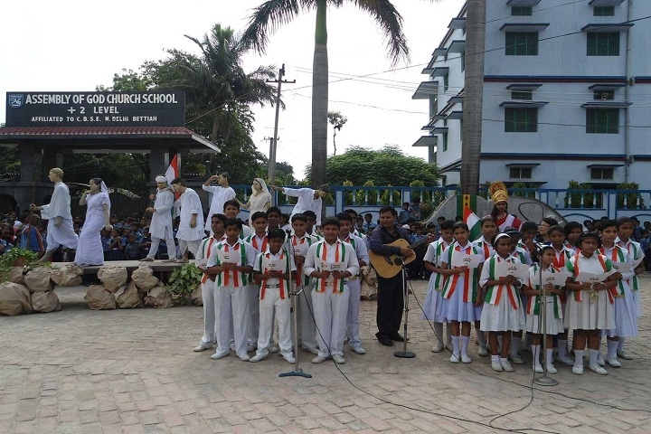 Assembly Of God Church School-Republic Day