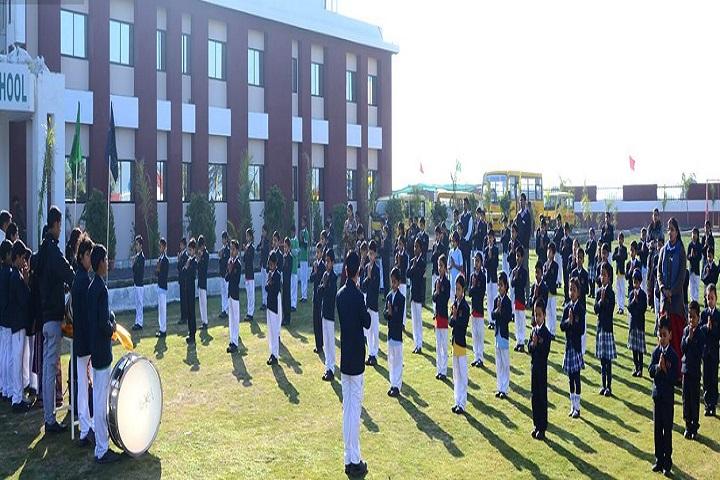 Lakshya International School-Assembly