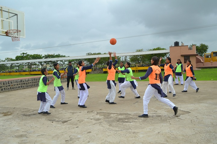 Little Angles Higher Secondary School-Basket Ball