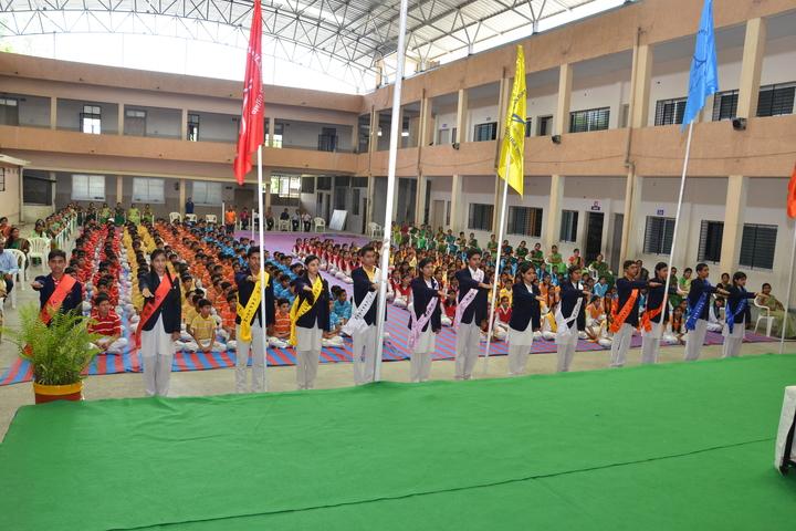 Lokmanya Tilak Higher Secondary School-Investiture Ceremony