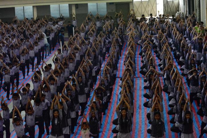 Lokmanya Tilak Higher Secondary School-Yoga Day
