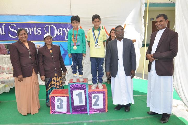 Lourde Mata Convent School-Annual Sports