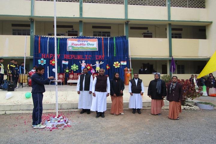 Lourde Mata Convent School-Republic Day