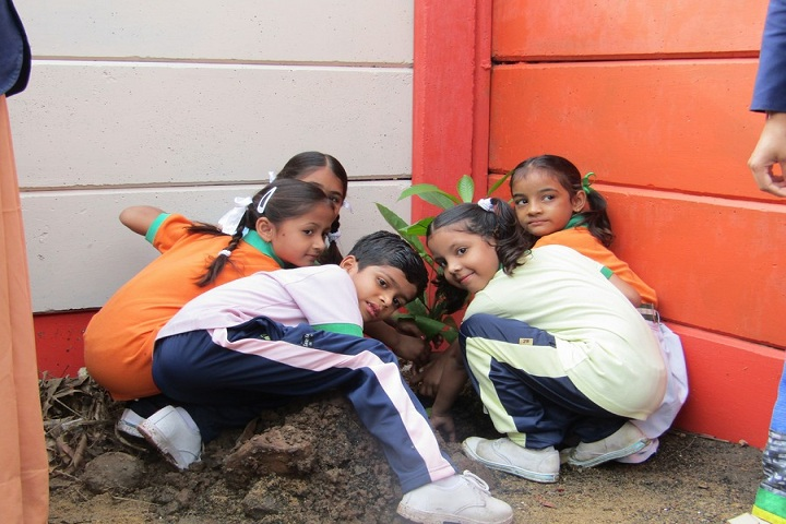 Lourde Mata Convent School-Tree Plantation