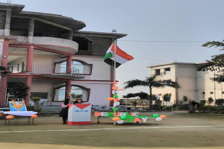 M G D Education Academy-Republic Day