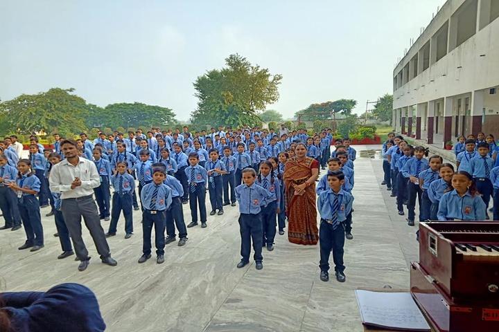 M D S Senior Secondary School-Assembly