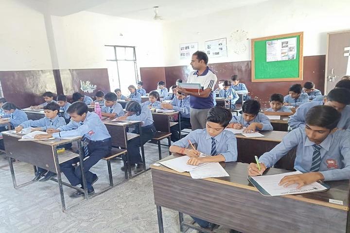 M D S Senior Secondary School-Classroom