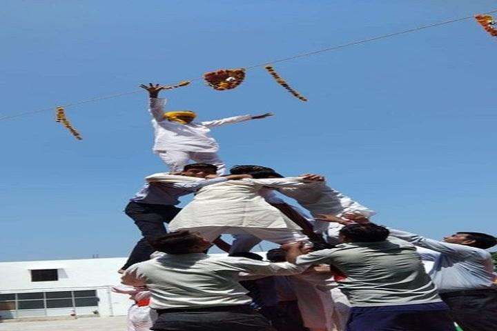 M D S Senior Secondary School-Festival Celebration