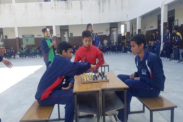 M D S Senior Secondary School-Indoor Games