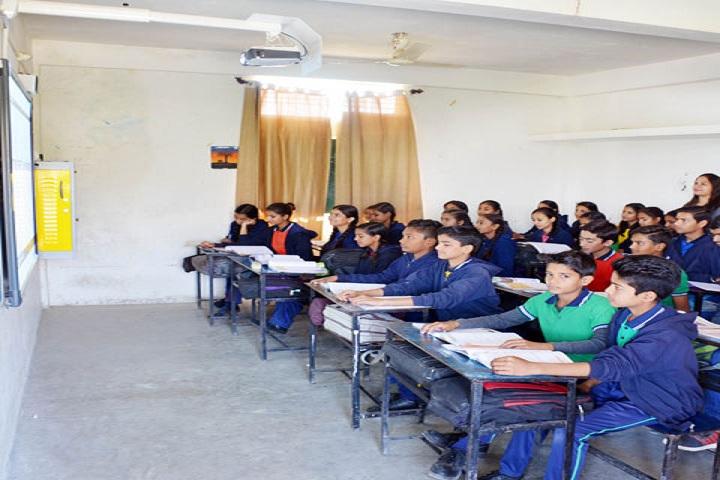 M P Convent School-Classroom