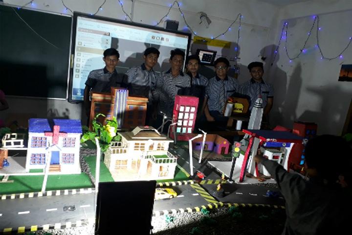 M P Convent School-Science Exhibition