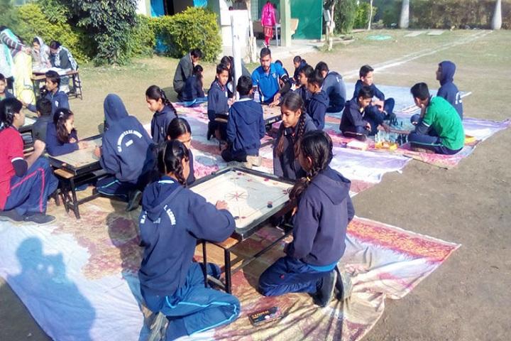 M P Convent School-Games