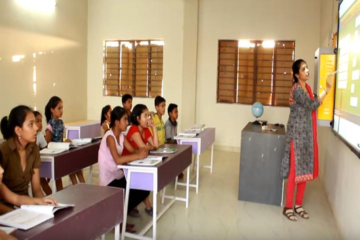 Magadham International School-Smart Classroom