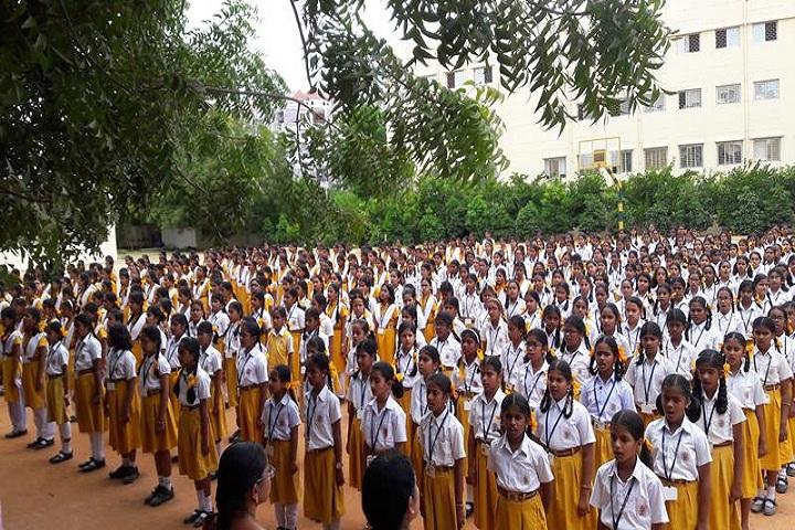 Maharishi Vidya Mandir-Morning Assembly