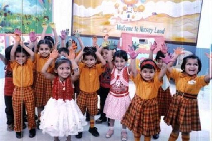 Maharishi Vidya Mandir-KG Students