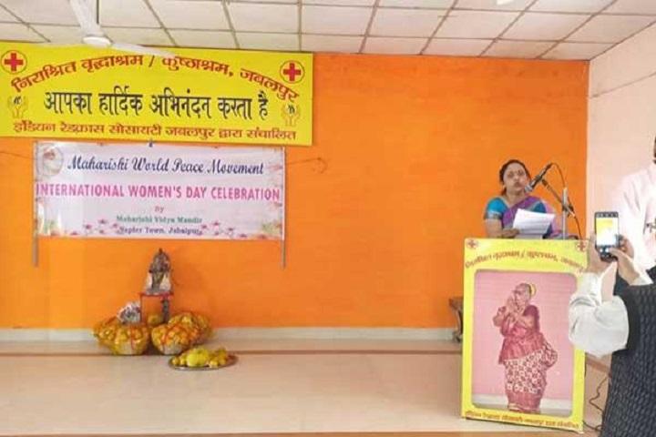 Maharishi Vidya Mandir-Speaker